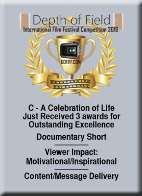 Depth of Field Film Festival,C-A Celebration of Life,C A Celebration of Life, Celebration of life, A Celebration of Life, Mission Positive Films,MPF